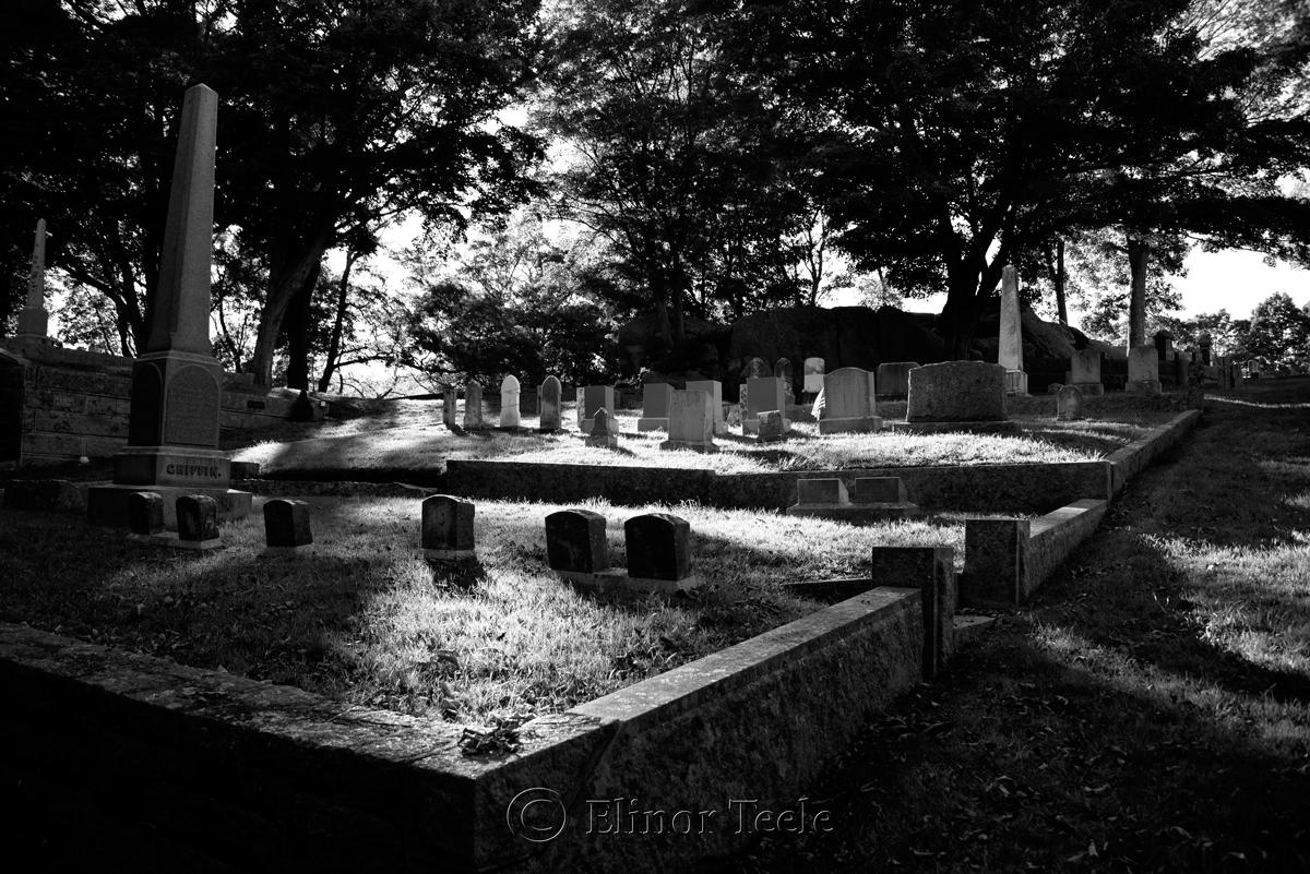 Mt. Adnah Cemetery (BW), Annisquam MA