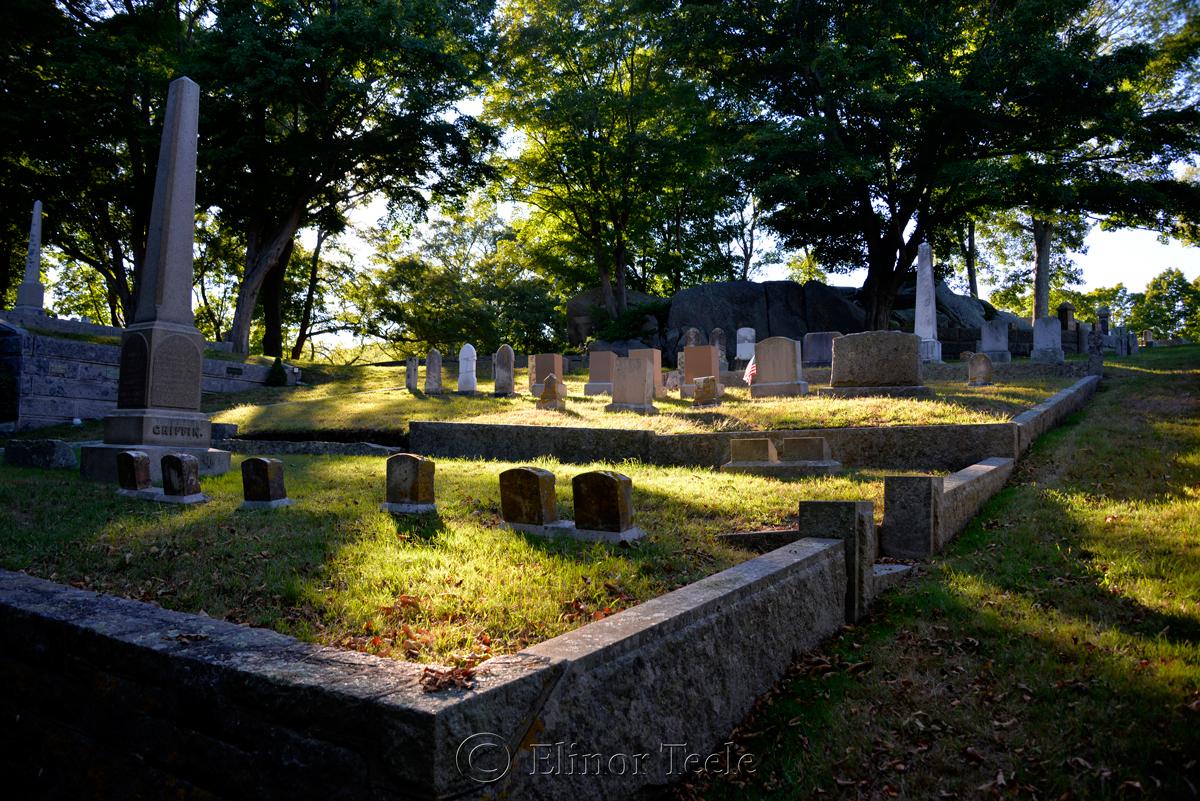 Mt. Adnah Cemetery (Color), Annisquam MA