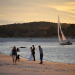 Wedding Party, Sailboat & Sunset