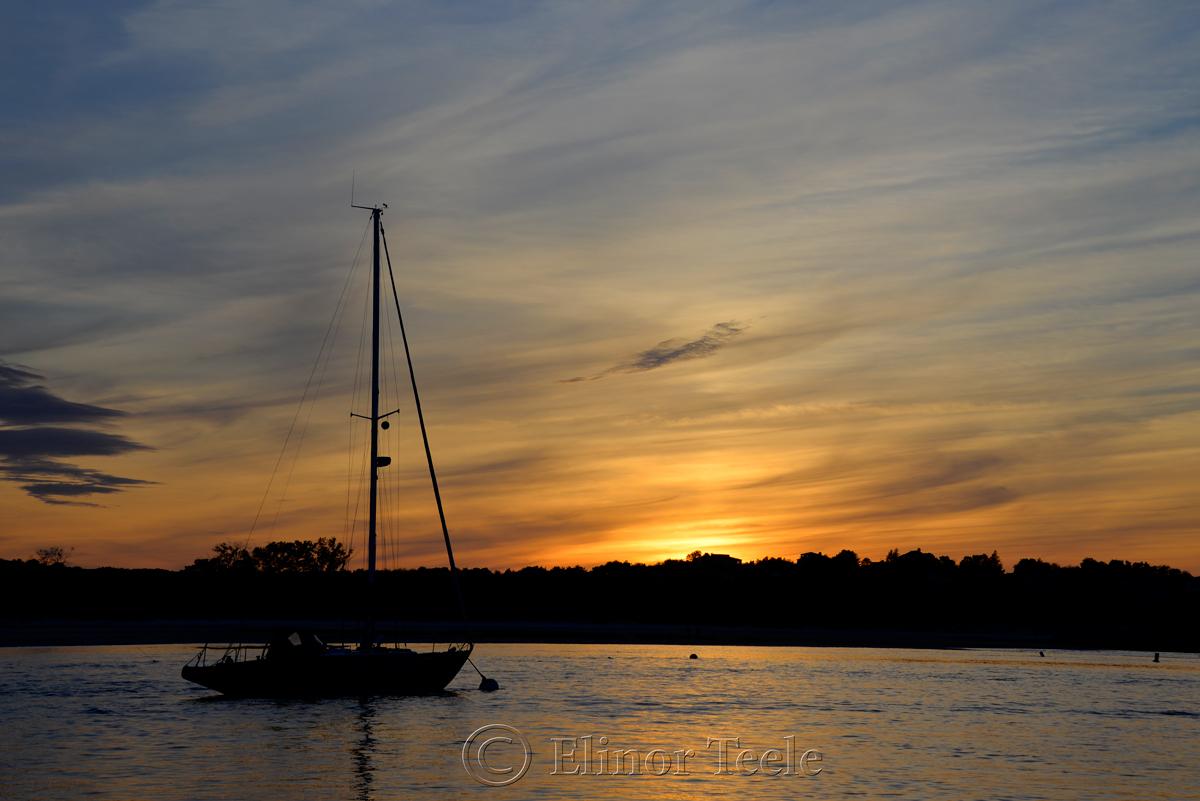 Wingaersheek Beach Sunset, Gloucester MA