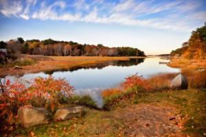 Fall Foliage - Little River, Gloucester MA