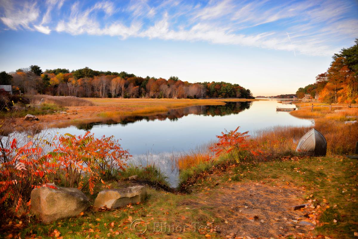 Fall Foliage - Little River, Gloucester MA