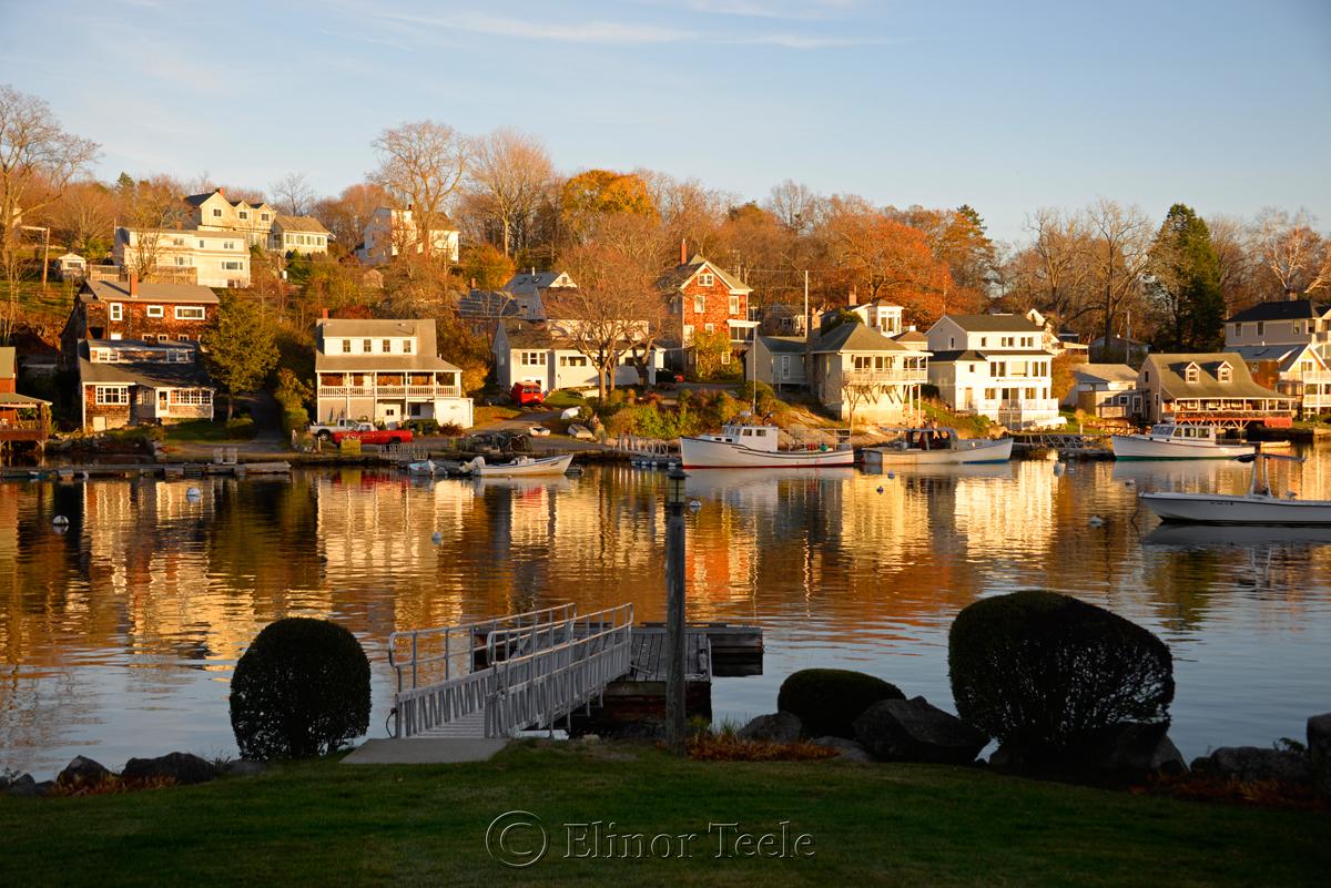 Annisquam Harbor - November Afternoon, Annisquam MA 1