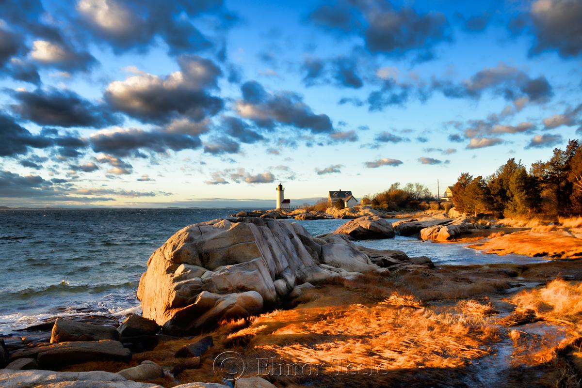 Lighthouse & Golden Sea Grass