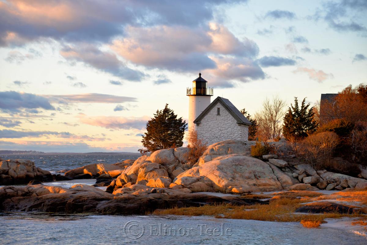 Lighthouse in December