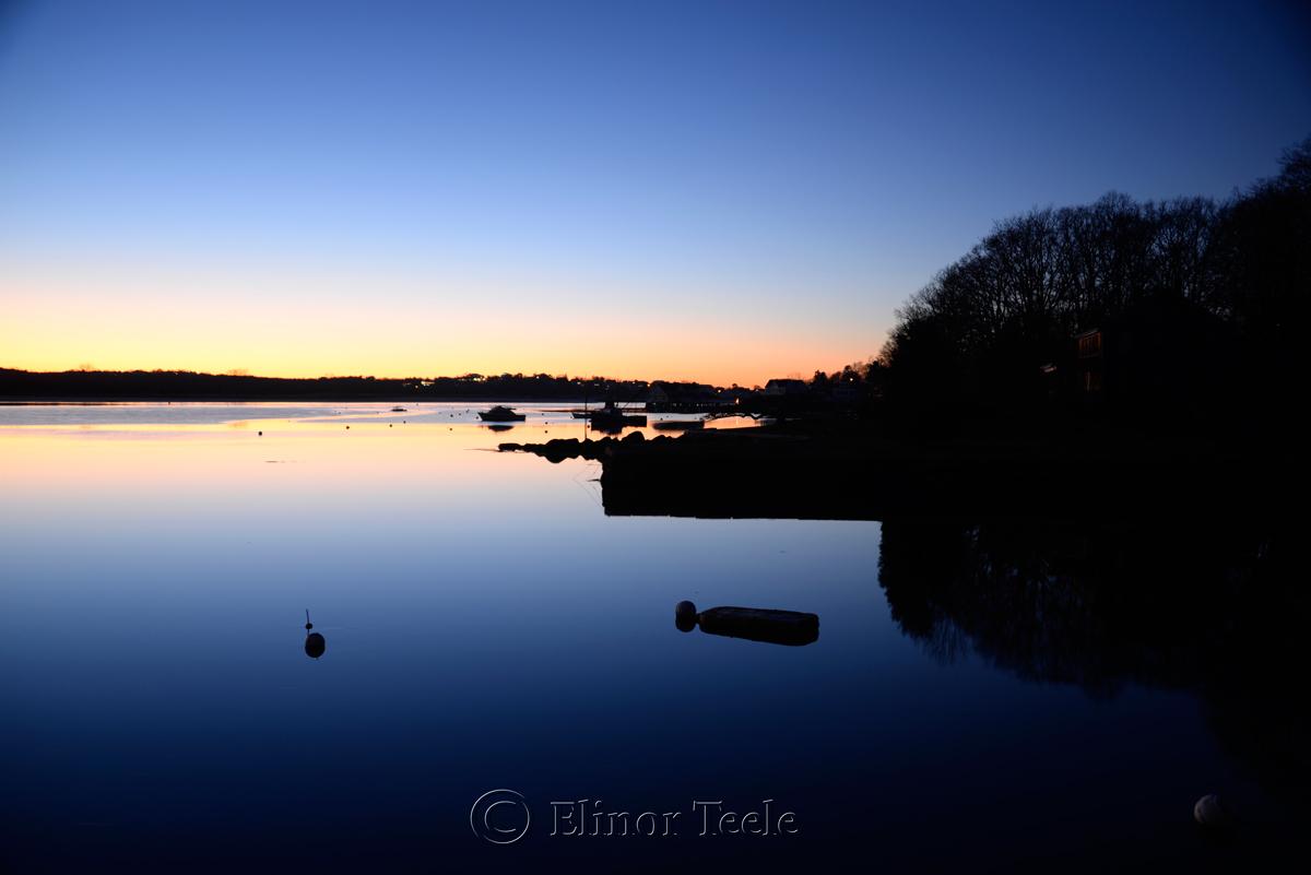 Twilight, Annisquam River, Gloucester MA
