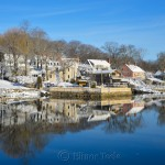 Lobster Cove, February Snow 2016, Annisquam MA