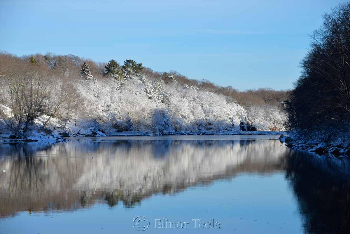 Head of the Cove, February Snow 2016, Annisquam MA