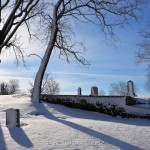 Mt. Adnah Cemetery, February Snow 2016, Annisquam MA