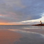 Lighthouse - Spring Sunset 1