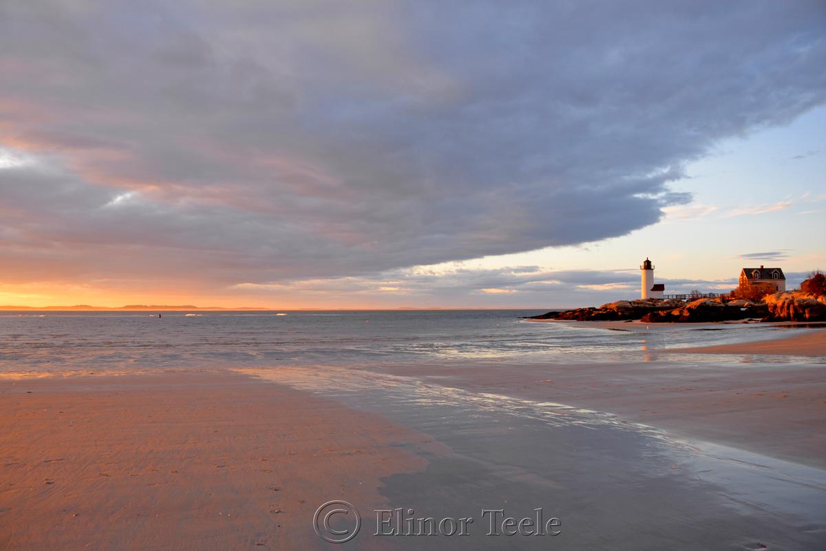 Lighthouse - Spring Sunset 1