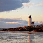 Lighthouse - Spring Sunset 2