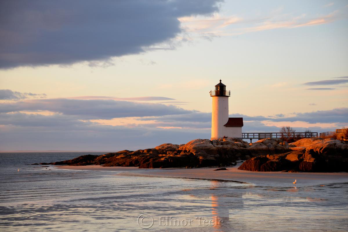Lighthouse - Spring Sunset 2