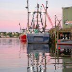 Gloucester Harbor Sunset - F/V Tom Slaughter II, Gloucester MA 1