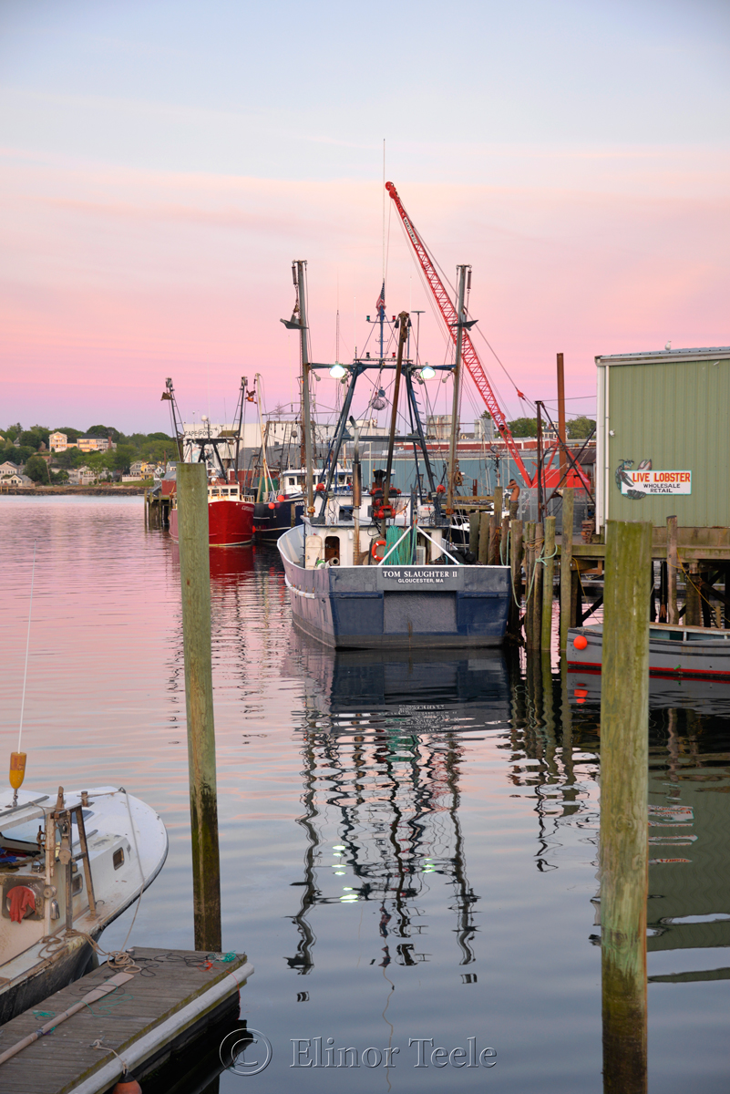 Gloucester Harbor Sunset - F/V Tom Slaughter II, Gloucester MA 2