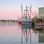 Gloucester Harbor Sunset - F/V Tom Slaughter II, Gloucester MA 3