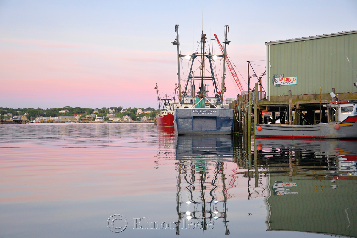 Gloucester Harbor Sunset - F/V Tom Slaughter II, Gloucester MA 3