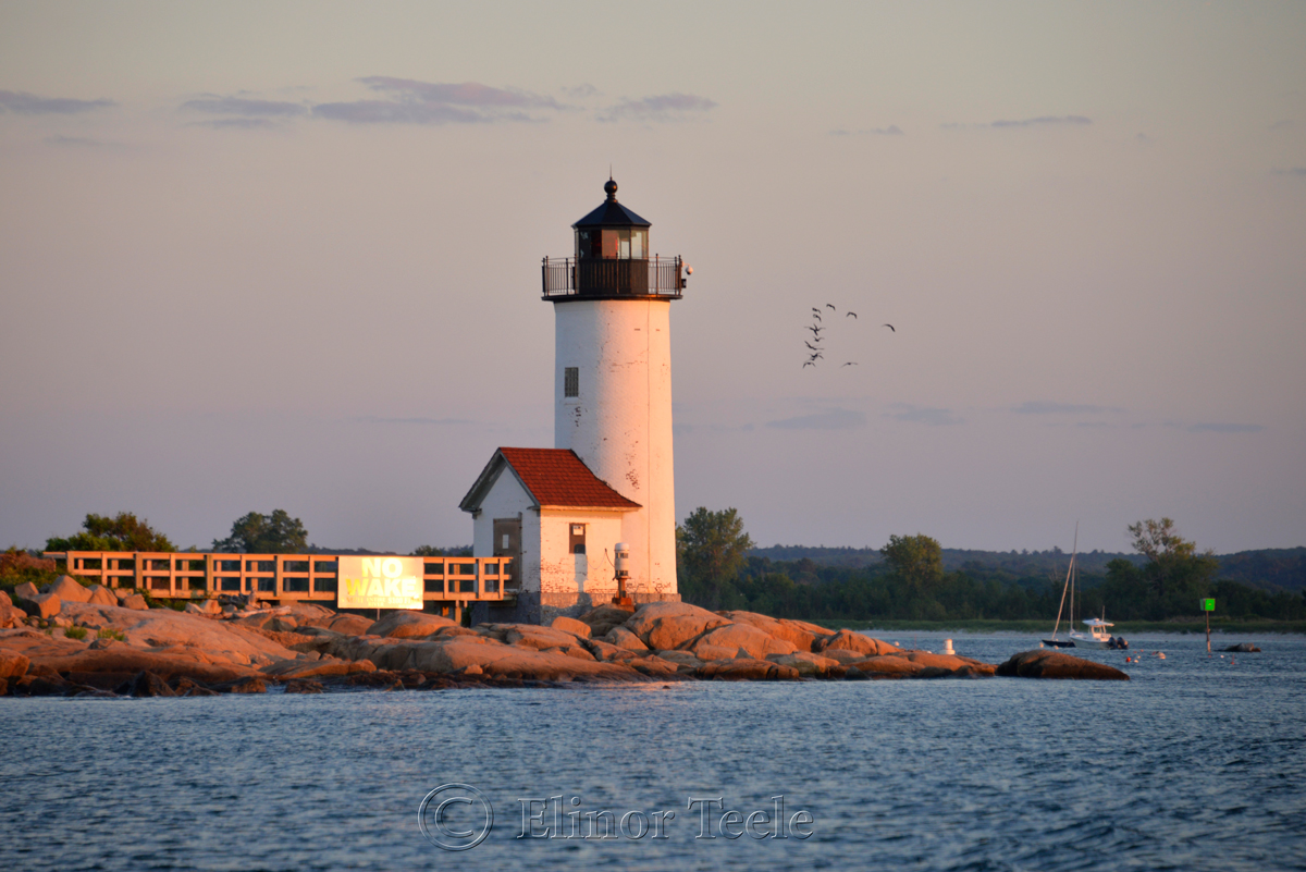 Annisquam Lighthouse from Ipswich Bay