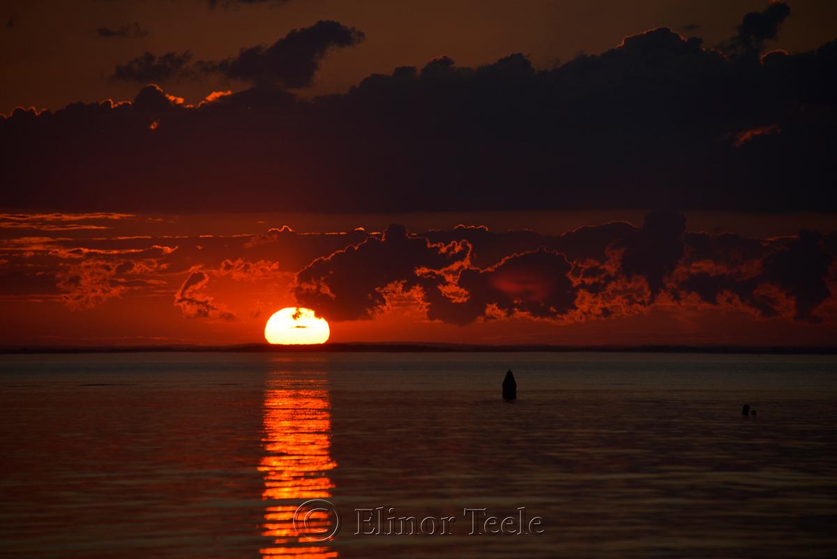 Last of the Sunset, Ipswich Bay