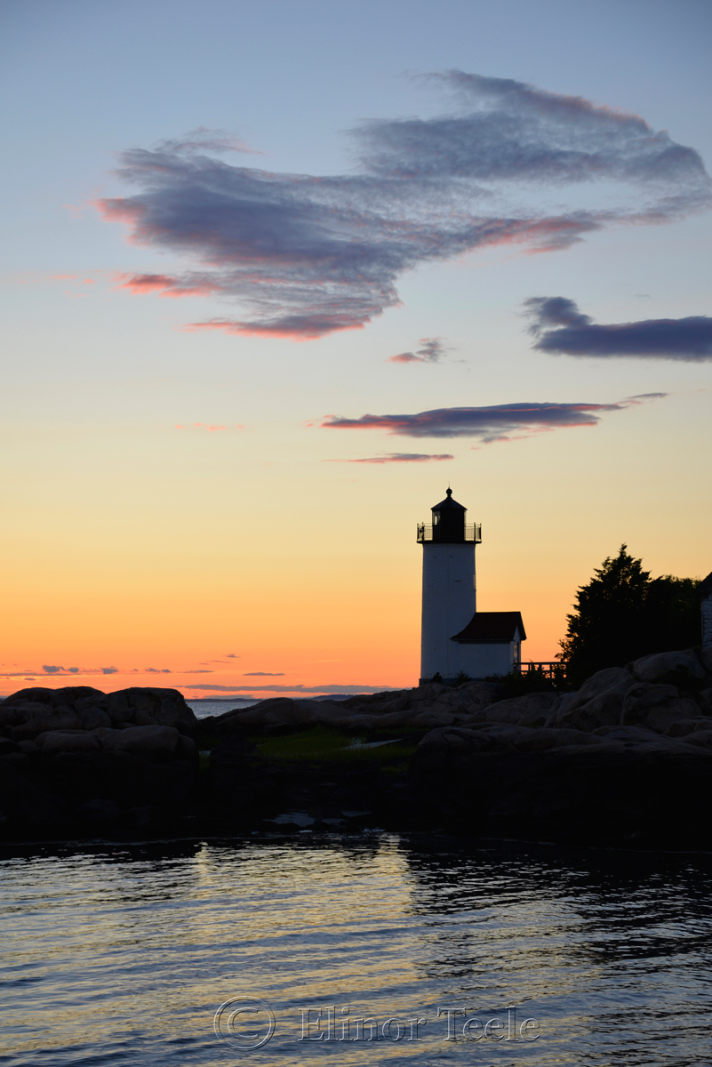 Lighthouse in July
