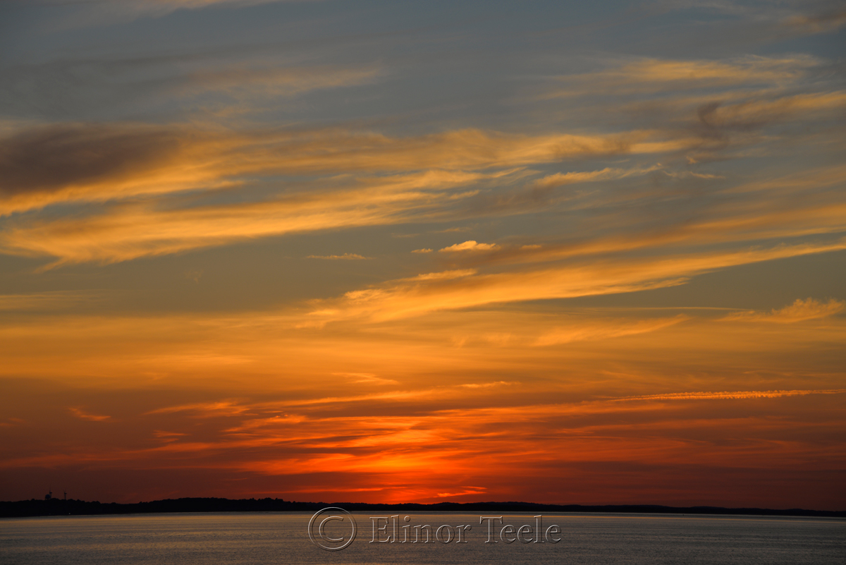 Sunset, Ipswich Bay 1