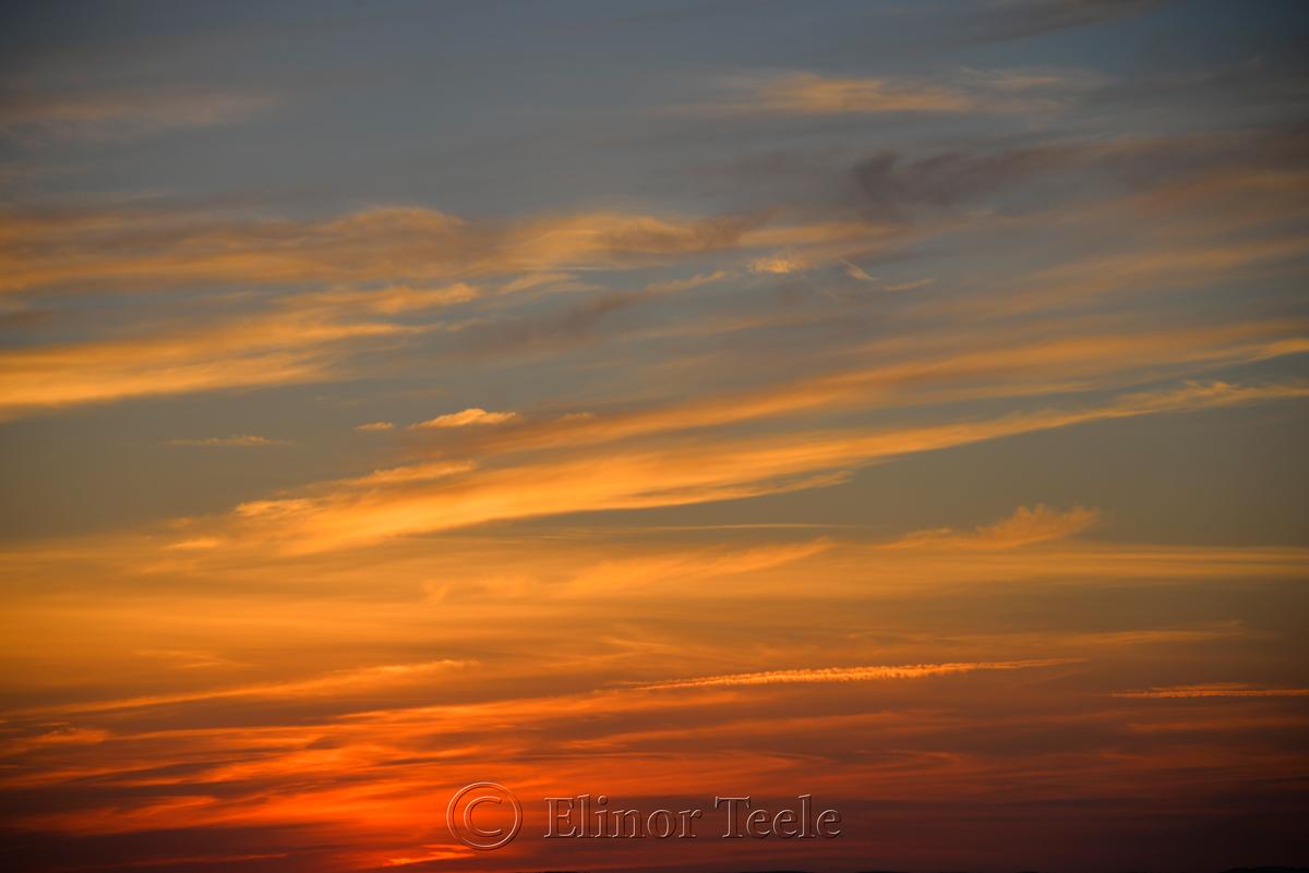 Sunset, Ipswich Bay 2