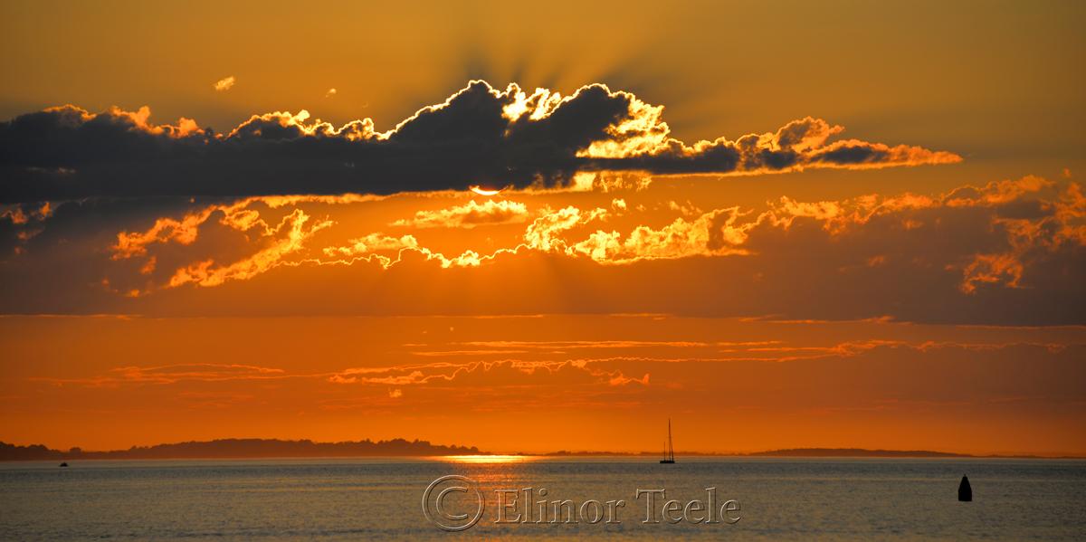Sunset, Ipswich Bay 3