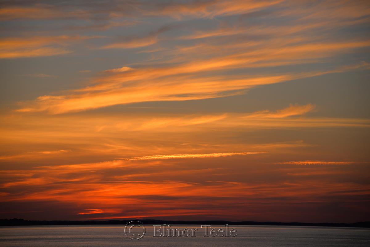 Sunset, Ipswich Bay 5