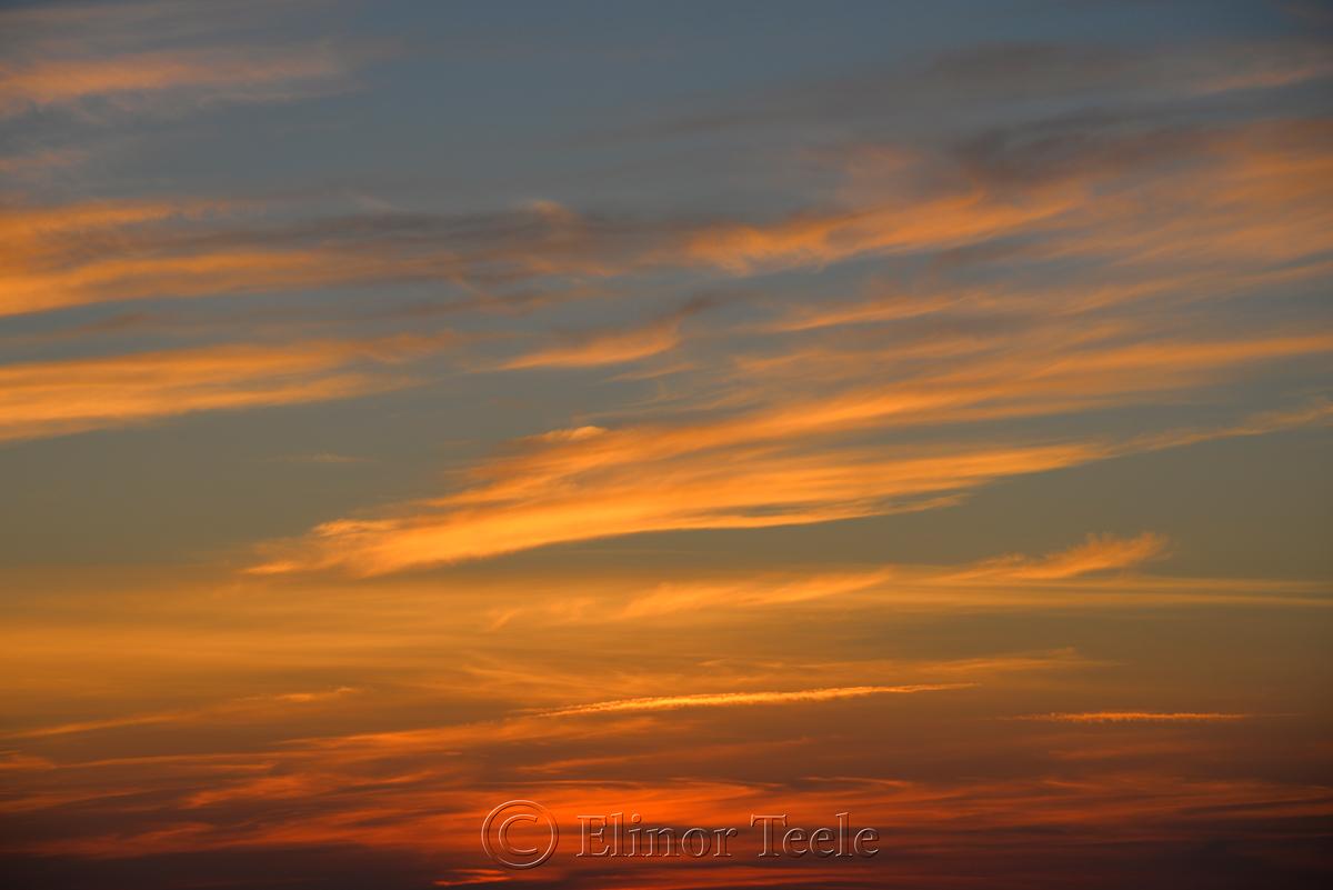 Sunset, Ipswich Bay 6