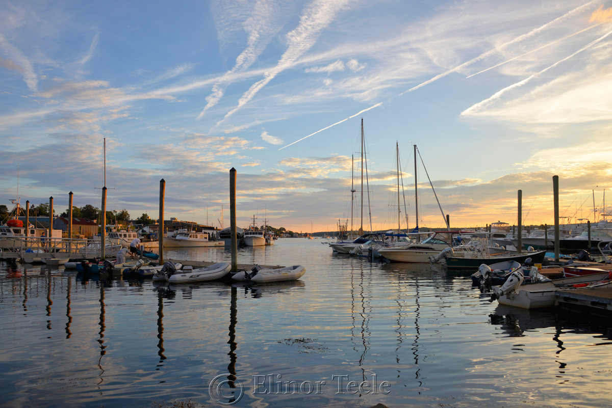 Gloucester Harbor Sunset, Cripple Cove Series 1