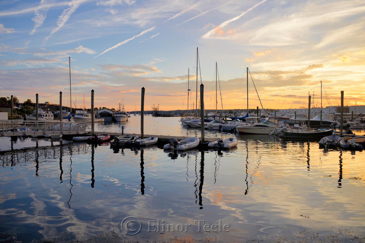 Gloucester Harbor Sunset, Cripple Cove Series 3