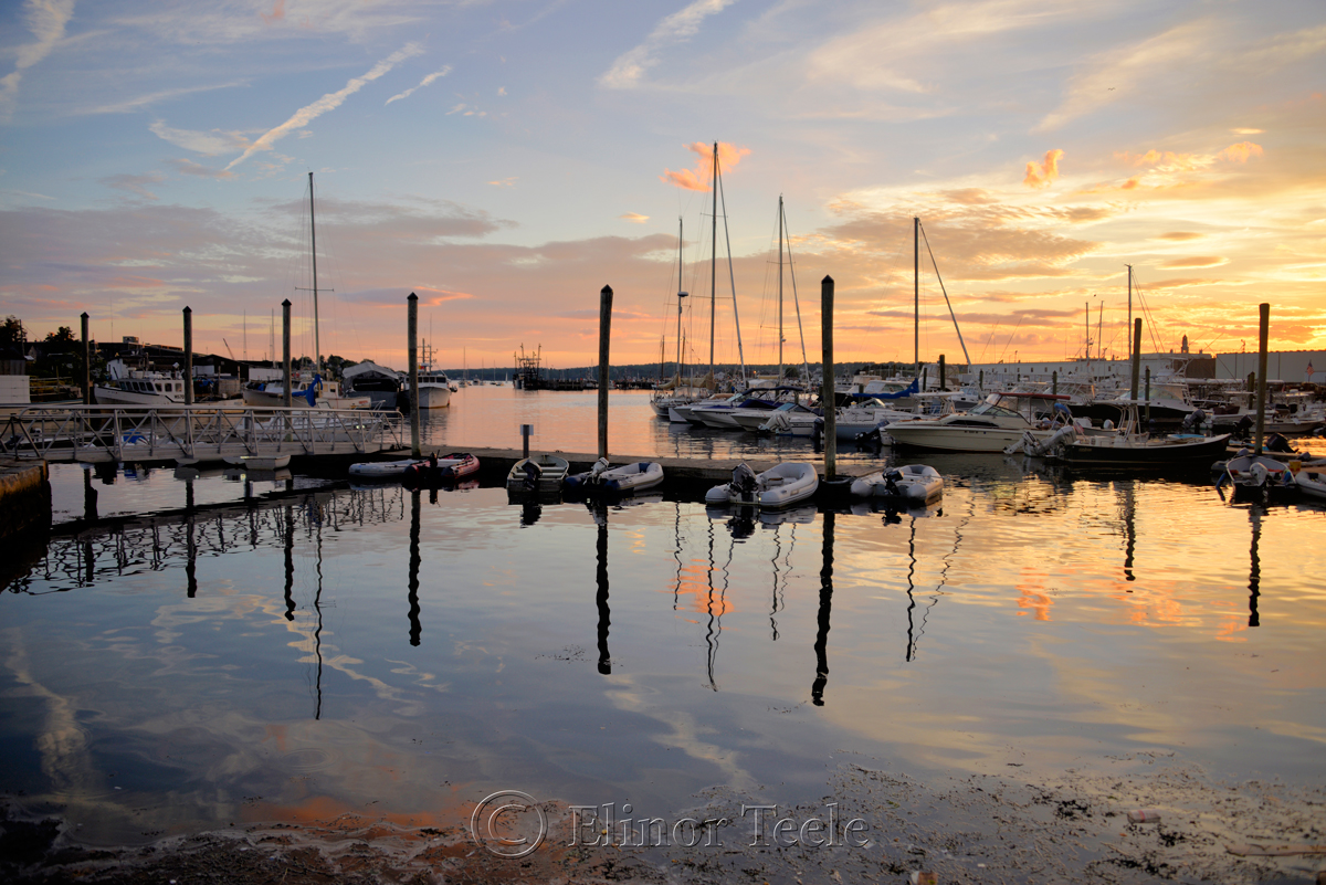 Gloucester Harbor Sunset, Cripple Cove Series 5