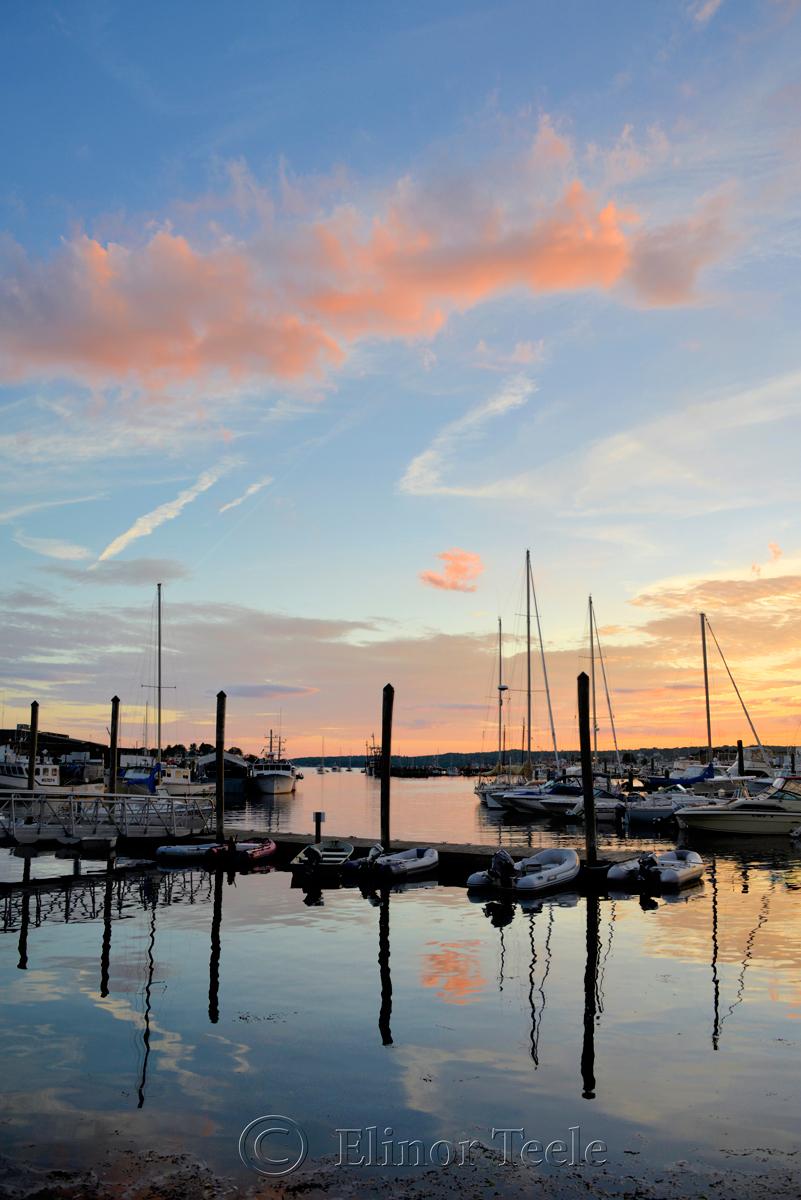 Gloucester Harbor Sunset, Cripple Cove Series 6