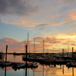 Gloucester Harbor Sunset, Cripple Cove Series 7
