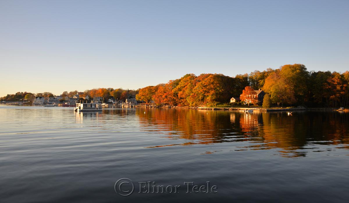 Annisquam Harbor - Fall Foliage