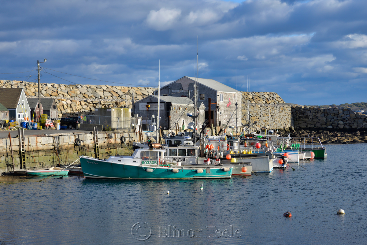 Pigeon Cove in October, Rockport MA 2
