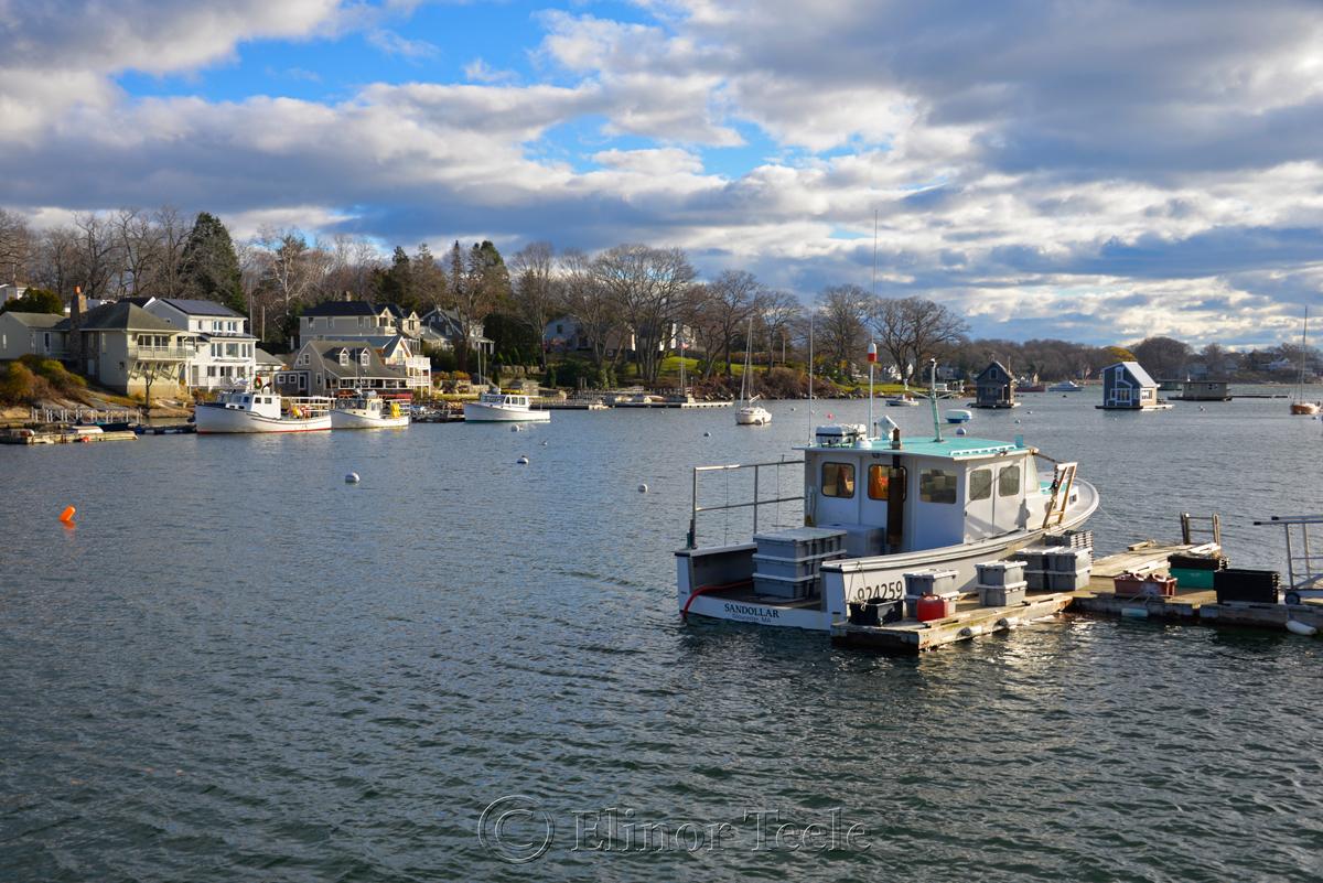 Annisquam Harbor in December
