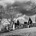 Bay View Cemetery - Black & White