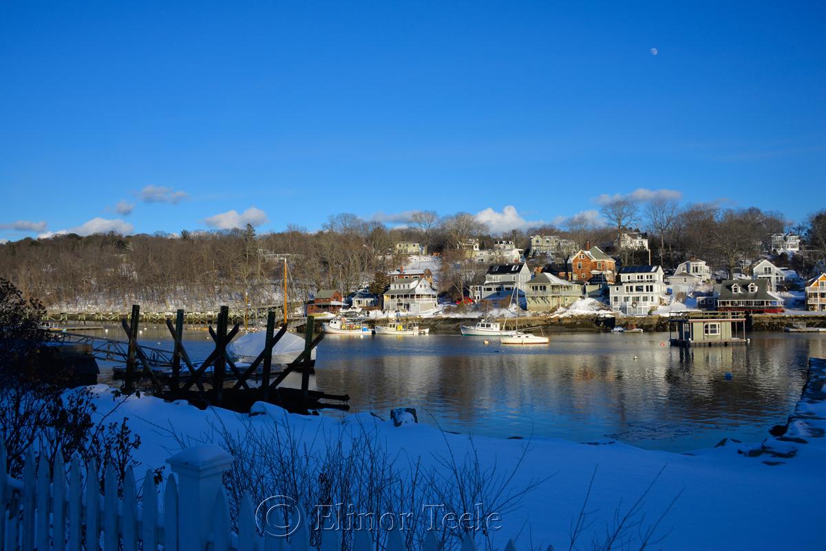 Annisquam Harbor - January Snow