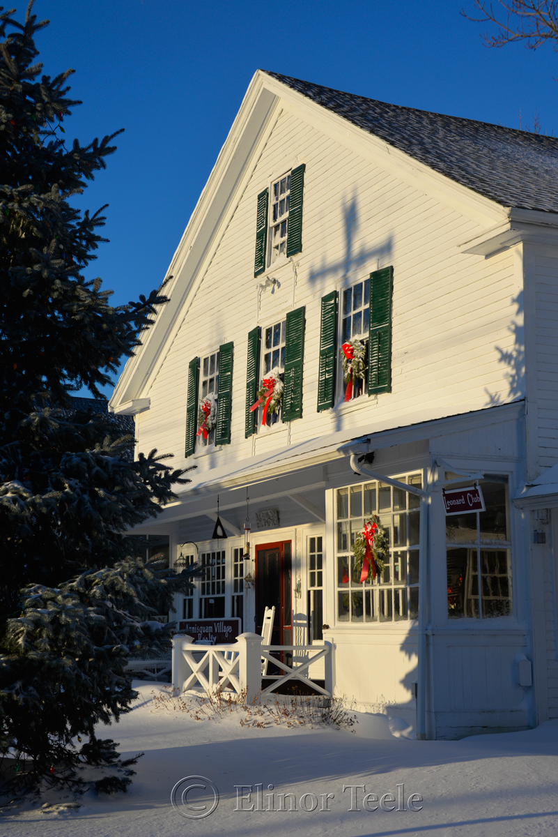 Annisquam Village Hall - January Snow 1