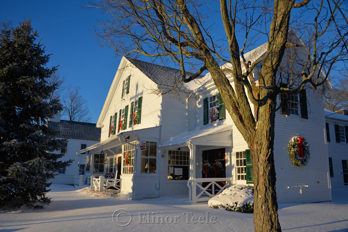 Annisquam Village Hall - January Snow 2