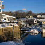 Market Docks - January Snow 2
