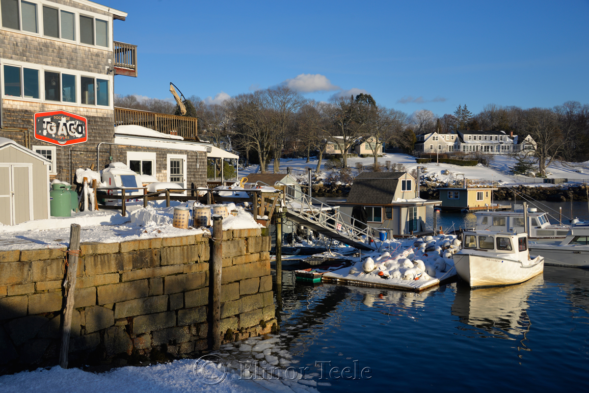 Market Docks - January Snow 2