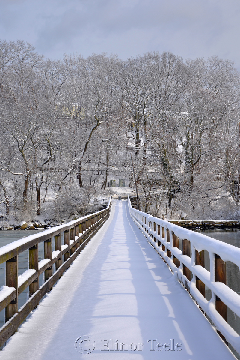 Annisquam Footbridge in February