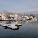 Annisquam Harbor in February 2
