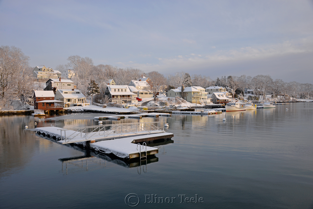 Annisquam Harbor in February 2