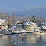 Annisquam Harbor in February 5