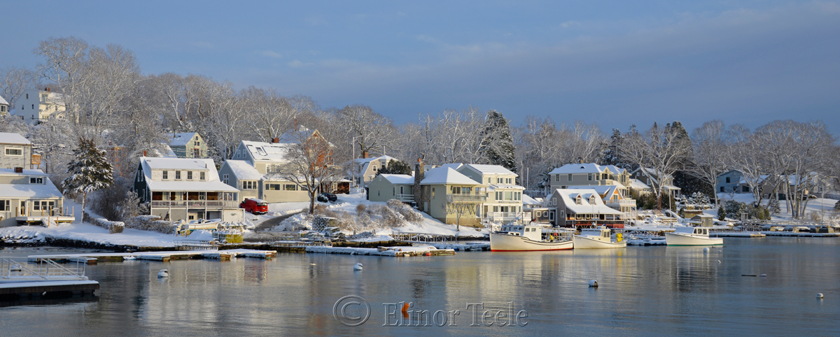 Annisquam Harbor in February 5