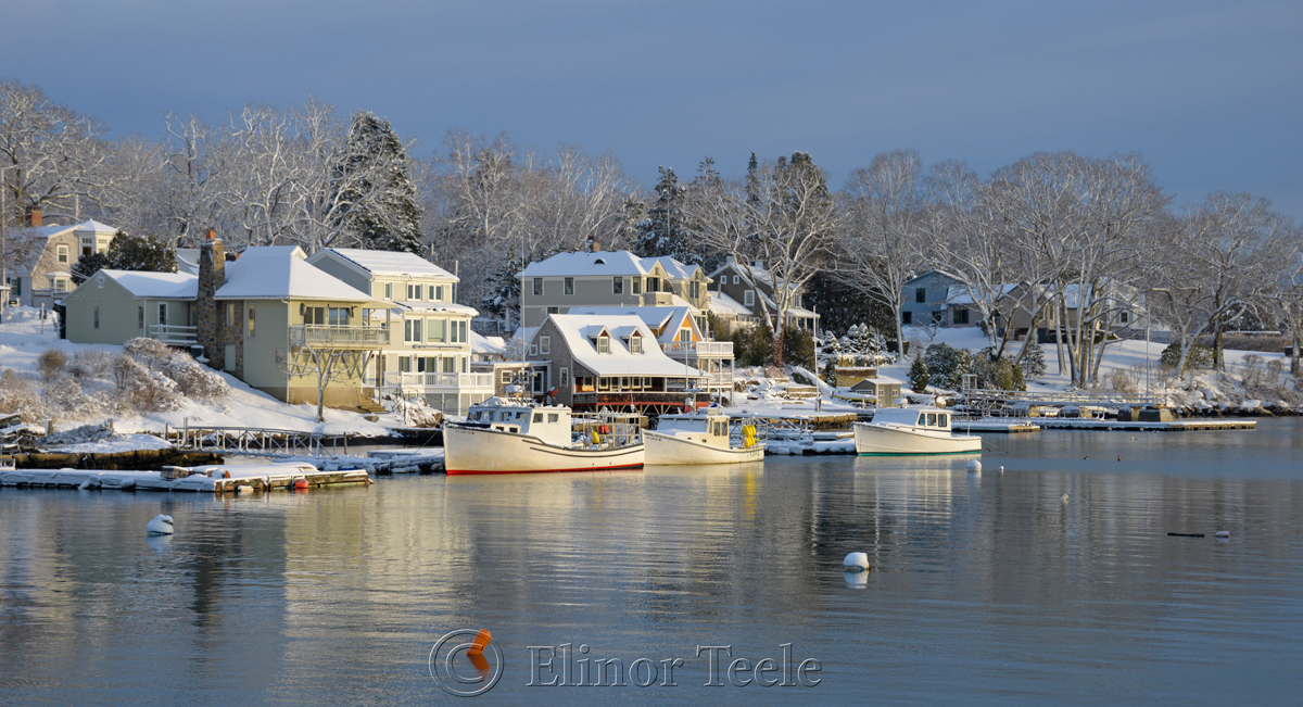 Annisquam Harbor in February 6