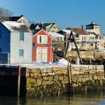 Bearskin Neck in February, Rockport MA